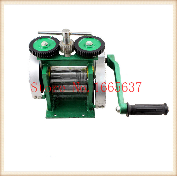 Jewelry Mini Rolling Mill Tool and Equipment Goldsmith Machine Hand Rolling Mill 100% Promotion with Best Price abrasive jewelry tool hanging mill