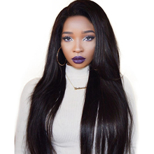 250% Density Brazilian Straight Lace Front Human Hair Wigs With Baby Hair Bleached Knots Remy Hair Bleached Knots You May