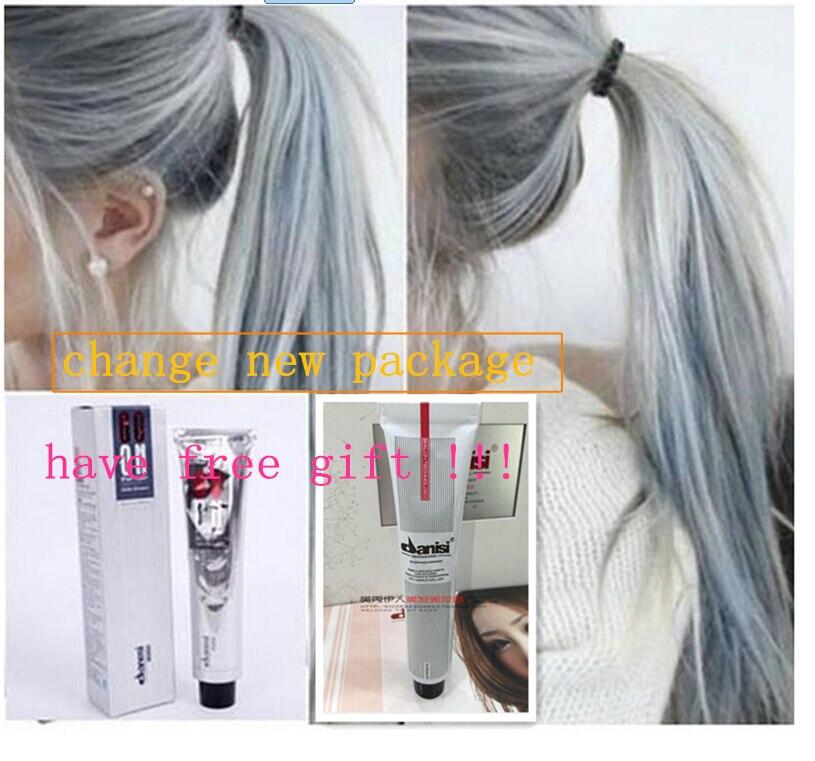 100 ml danesi goon couleur cheveux crme gris clair couleur permanent super cheveux colorant avec un - Shampoing Colorant Gris