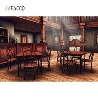 Laeacco 오래 된 빈티지 살롱 와인 바 서쪽 카우보이 테이블 하우스 인테리어 사진 배경 사진 배경 사진 스튜디오