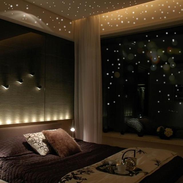 Hot Sales 407Pcs Glow In The Dark Star Wall Stickers Round Dot Luminous Kids Room Decor Vinilos Decorativos Bedroom Decoration 1