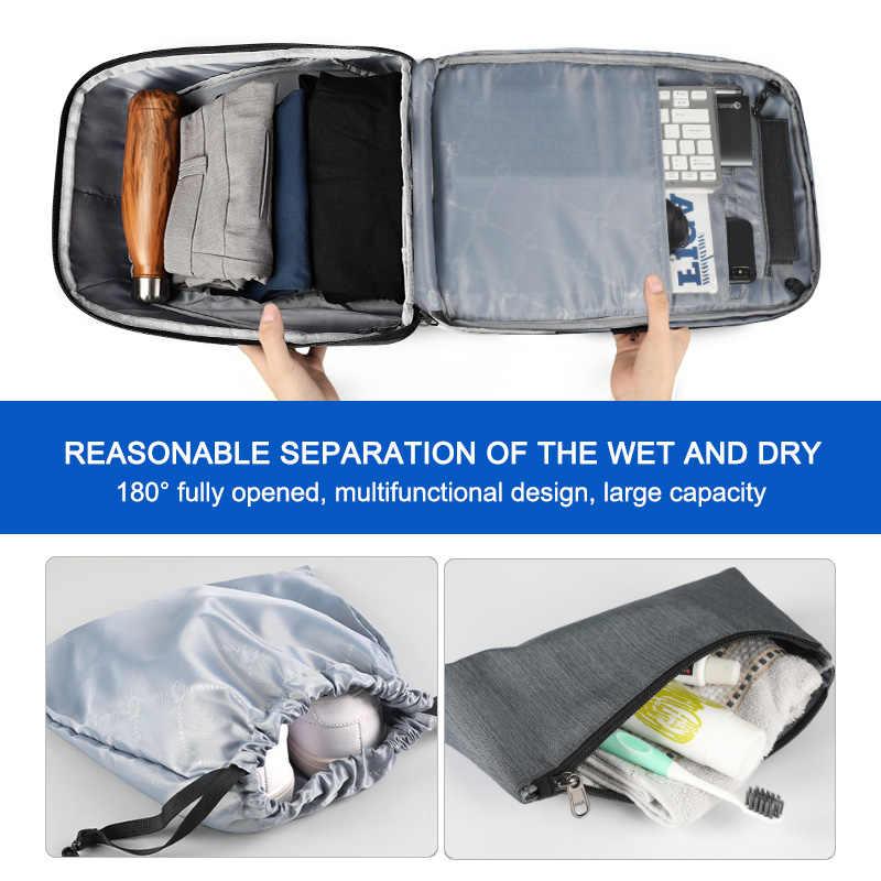 Tigernu RFID бизнес рюкзак с TSA замок для путешествий для багажа карты защиты от кражи рюкзаки для мужчин водонепроницаемый 15,6 ноутбук