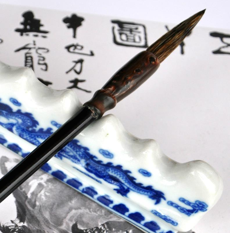 Hot Selling RUYANGLIU Writing Brush Badger Hair for Painting Calligraphy Medium Regular Script Calligraphy Painting микрофон gal vm 175