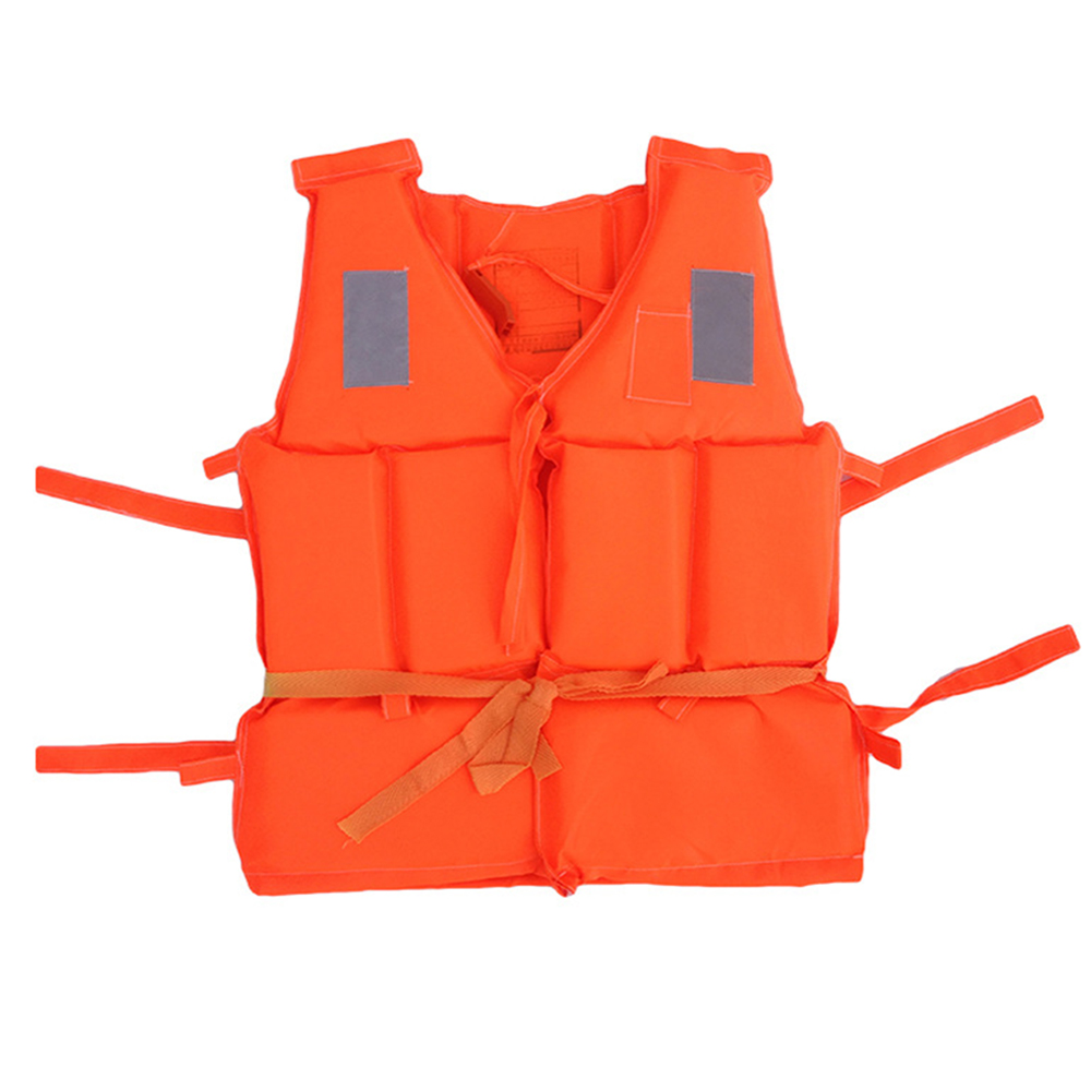 Children Adult Life Jacket Coat Vest Swimming Boating Beach Outdoor Survival Life Jacket Safety Jacket With Whistle