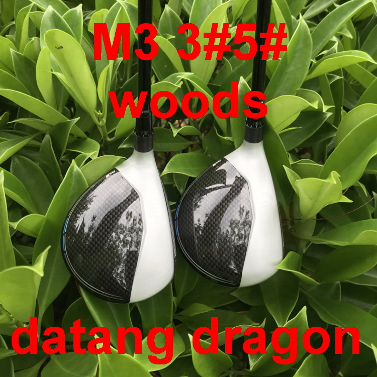 datang dragon M3 fairway woods 3 5 with FUBUKI graphite shaft stiff flex headcover wrench 2pcs