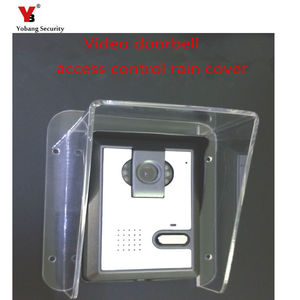 Image 2 - Yobang אבטחה Freeship הווילה אינטרקום פעמון בקרת גישה מארח מכונה כיסוי גשם כיסוי עמיד למים סוג אוניברסלי
