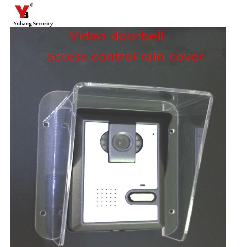 Image 2 - Yobang Security Freeship Intercom villa doorbell host access control machine Waterproof cover rain cover universal typerain coverrain waterproofrain machine -