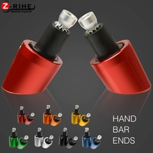 Universal  22mm Motorcycle Handlebars Grips Ends Bar Caps For YAMAHA FJR YZF R1 R6/S 1300 V-MAX XSR 700/900 ABS