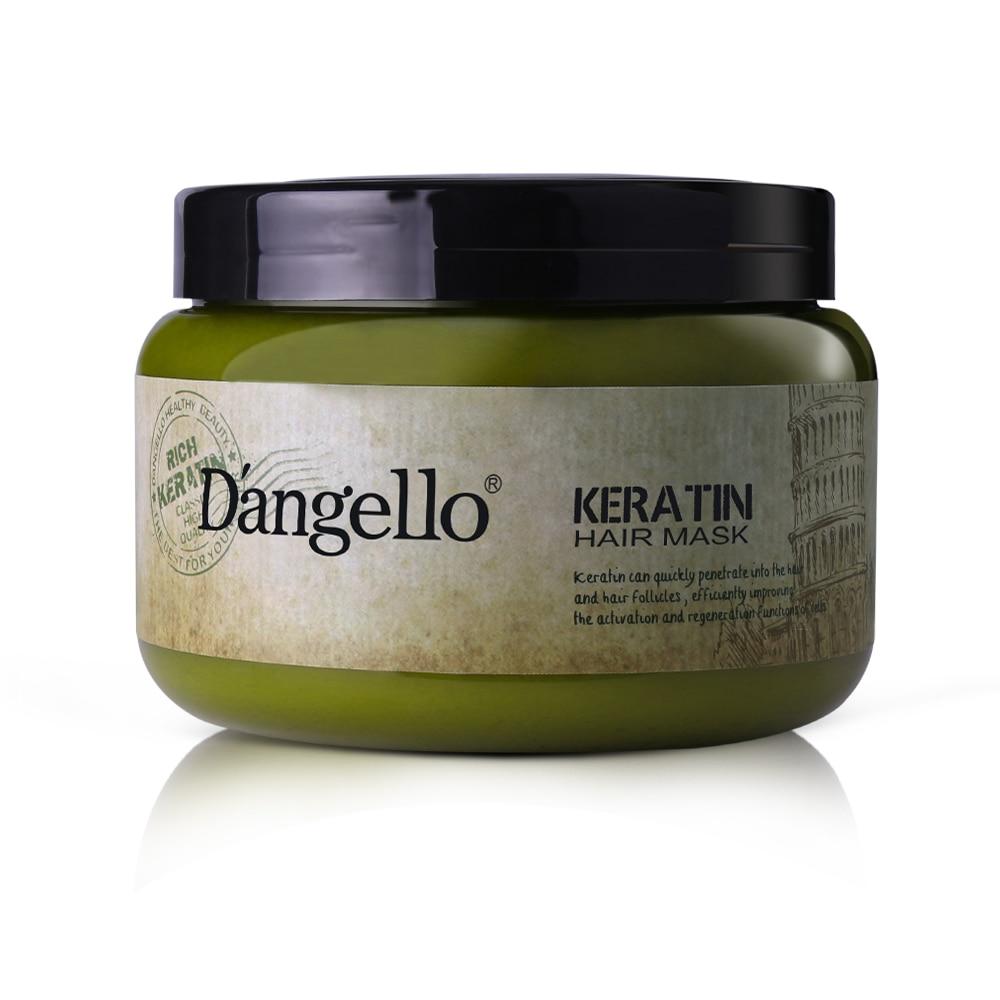 Keratin Hair Mask Dangello Conditioner Moroccan Argan Oil Hair Hair Care Treatment Strength Moisturize Hair Repair Damaged Soft бальзам hair company keratin care conditioner