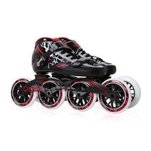 Professional Lightweight Carbon Fiber Adult Men Women Skating Roller Shoes Durable PU Wheel Skating Racing Skates