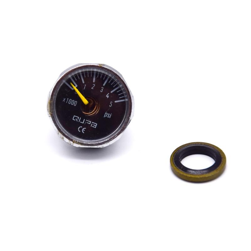 PCP Airforce High Pressure Gauge Hand Pump Mini Manometer  40MPA/300BAR/400BAR/5000PSI/6000PSI