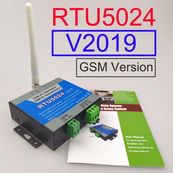 Nowa wersja 2019 RTU5024 sterownik GSM do otwierania bramy przekaźnik przełącznik zdalnego kontrola dostępu bezprzewodowego otwieracz bramy przesuwne z systemem Android i iphone aplikacji tanie i dobre opinie Fail bezpieczne HUOBEI Brak RTU5024 V2019 DC12V GSM (2G) 850 900 1800 1900MHz One relay output 1000