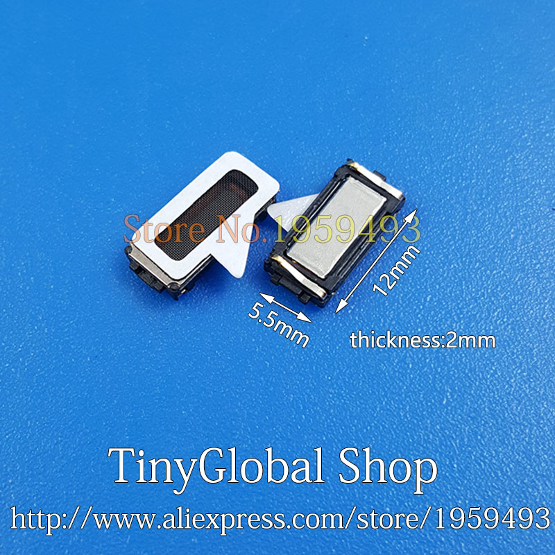 2pcs XGE New Ear Speaker Receiver Earpiece Replacement For ASUS Zenfone Max ZC550kl Zenfone 3 ZE552KL ZE553KL Go ZB690KL ZB69