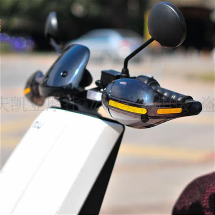 nxehtësi eliptike transparencë moto roje dore për honda suzuki - Aksesorë e pjesë për motoçikleta