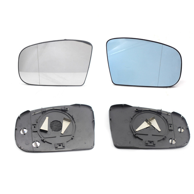 New Car Left Door Side Wing Mirror Glass Wide Angle for Mercedes Benz W220 S500 S430 S600 S551999-2003 Car rearview mirrors