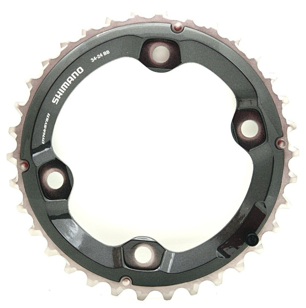 Image 3 - Shimano Deore XT M8000 double chainring 38 28 36 26 34 24t-in Bicycle Crank & Chainwheel from Sports & Entertainment