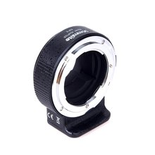 Commlite Electronic Lens Mount Adapter for Nikon F Lens to Sony E-Mount Camera Aperture Control for SONY A7 II A7R II A6300