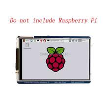 라즈베리 파이 3.5 인치 lcd 800x480 60fps tft 스크린 hd 고속 lcd 모듈 pi 3b + 2b b + zero wh 용 3.5 디스플레이