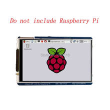 פטל Pi 3.5 אינץ LCD 800x480 60fps TFT מסך HD HighSpeed LCD מודול 3.5 תצוגה עבור Pi 3B + 2B B + אפס WH