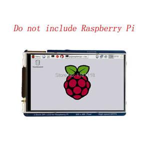 Image 1 - Raspberry Pi 3.5 inch LCD 800x480 60fps TFT Screen HD HighSpeed LCD Module 3.5 Display For Pi 3B+ 2B B+ Zero WH