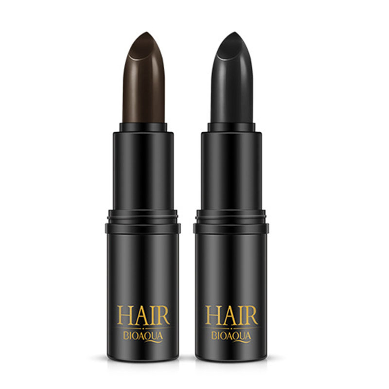 Pro Hair Care Pomades For Women Dye Waxes Cream Black Brown Mild Fast Hair Color Pen Cover Hair DIY Styling Makeup Cosmetic