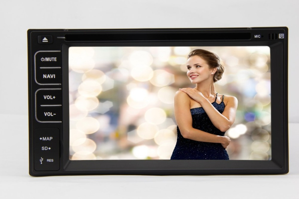 Electrónica del coche 2din pantalla táctil de coches reproductor de dvd Radio Bl