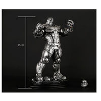 13 Marvel Avengers 3 Infinity War Villain Thanos Statue 3D Action Figure Resin Anime Figure Collectible Model Toy