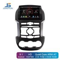 JDASTON Android 9.1 Car DVD Player For Ford Ranger F250 2011 2012 2013 2014 2015 GPS Navigation 2Din Car Radio Stereo Multimedia