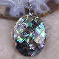 Free Shipping New without tags Fashion Jewelry Natural Blue New Zealand Abalone Shell Pendant 1Pcs RK722