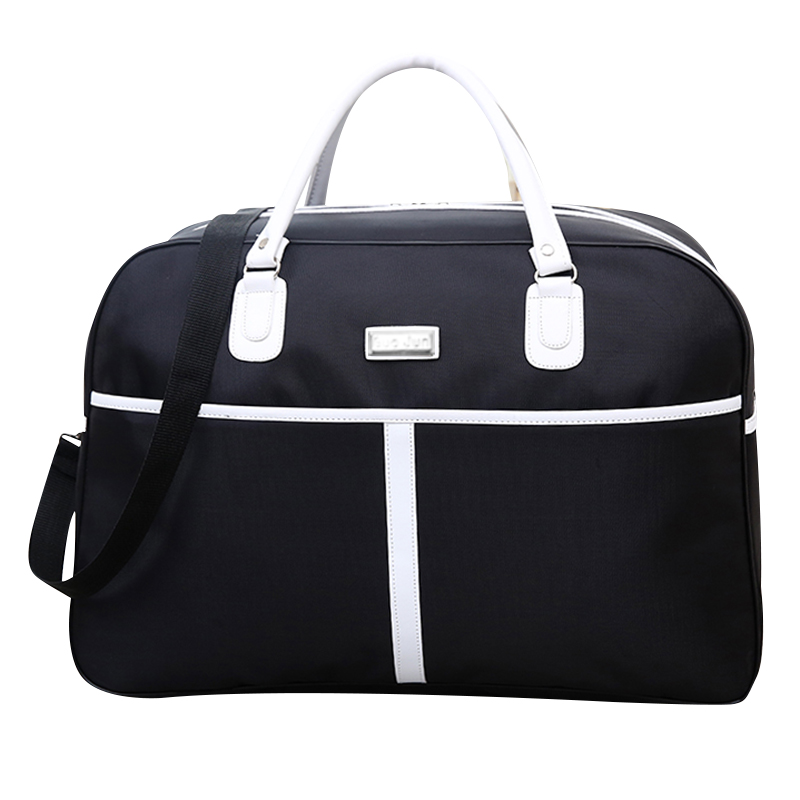 Women Travel Bags 2018 New Fashion Oxford Waterproof Large Capacity Luggage  Duffle Bag Casual Travel Bags 52 34 22cm X117-in Travel Bags from Luggage    Bags ... 72718a8828269