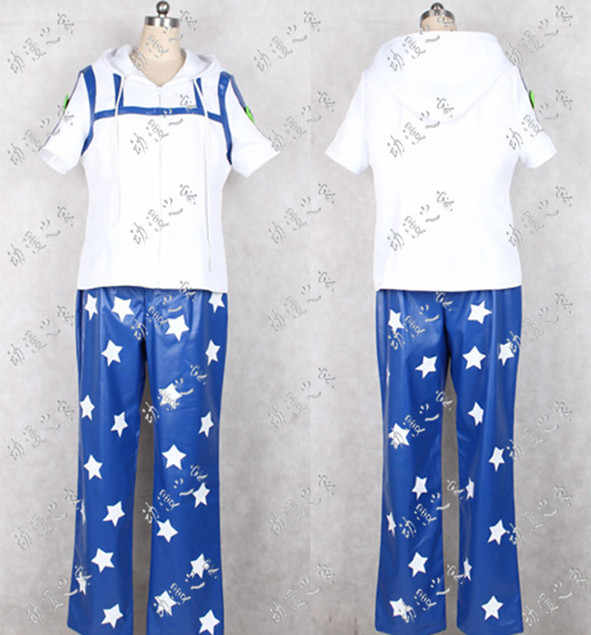 ジョジョの奇妙な冒険ジョニージョースターコスプレ衣装カスタム任意のサイズのハロウィン衣装大人のための