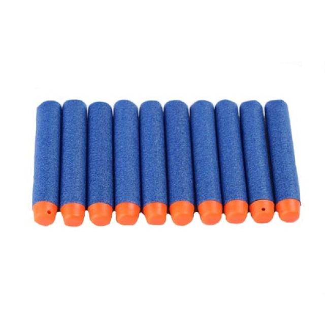 100pcs/set For Nerf N-strike Elite Rampage Retaliator Series Blasters Refill Clip Darts toy gun soft bullet