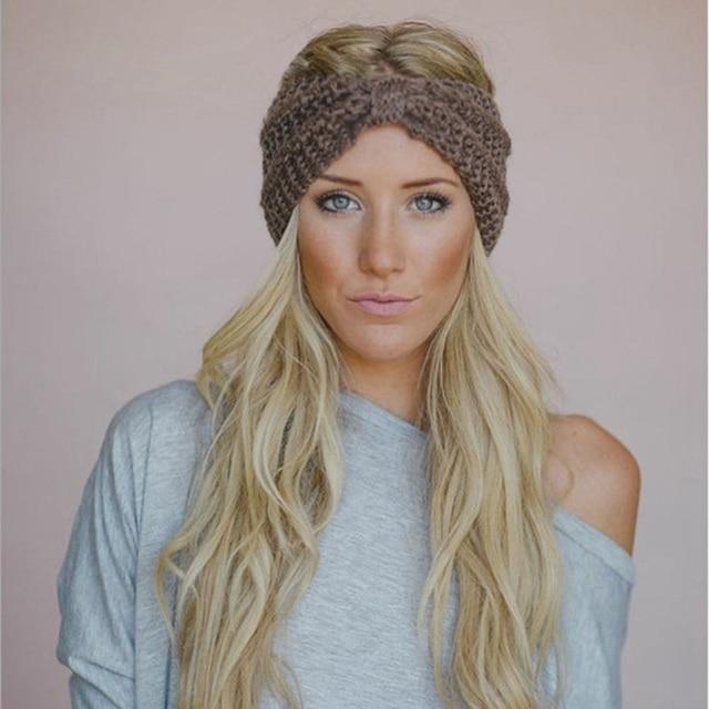 Naturalwell Frauen Winter Stricken Wolle Haarband Mädchen dame ...