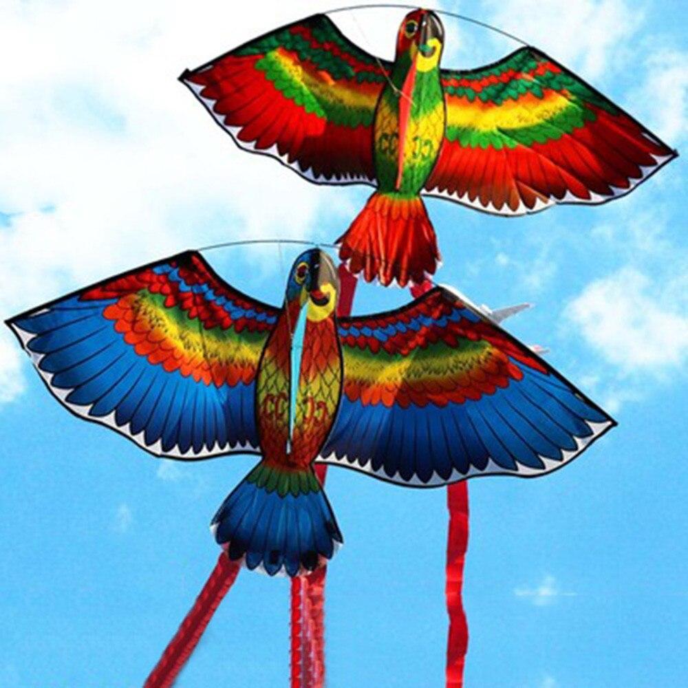 New Cute Cartoon Random Free Shipping New Parrots Kite Single Line Breeze Outdoor Fun Sports High Quality Gift Drop Shipping ...