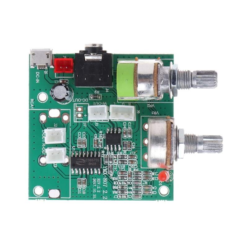 5V 20W 2.1 Dual Channel 3D Surround Digital Stereo Class D Amplifier AMP Board image