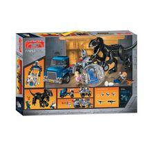 10920 168 шт. Динозавры юрского периода Tyrannosaurus Rex Breakout Бела здания Конструкторы Совместимость 77053 Кирпич игрушка