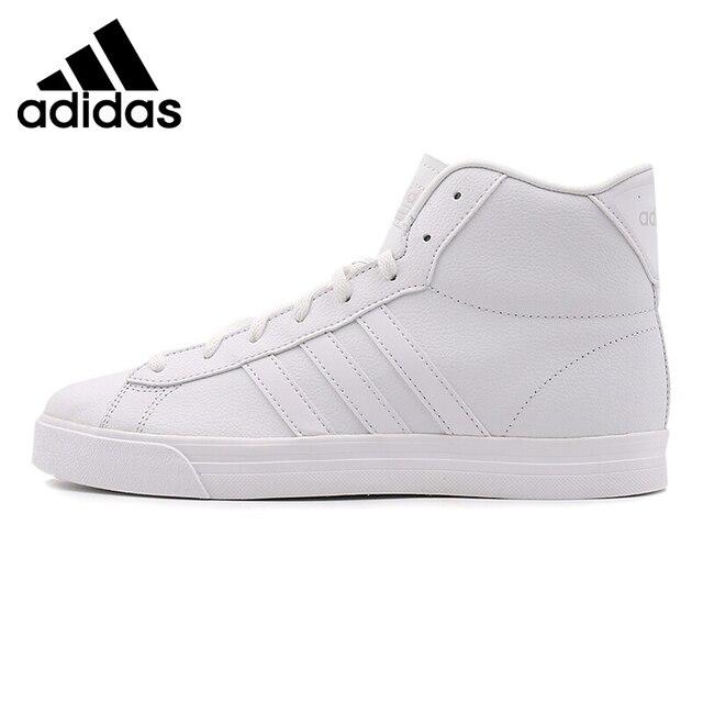 best website 34c94 0cfc7 Original Nouvelle Arrivée 2017 Adidas NEO Étiquette CF SUPER DAILY MID  Hommes de Planche À Roulettes