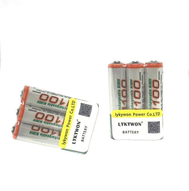 6 шт./лот Оригинальный GP AAA аккумуляторная батарея 1100 мАч/gp 1100/перезаряжаемый аккумулятор gp batteries 1.2 В Ni-MH + Бесплатная доставка