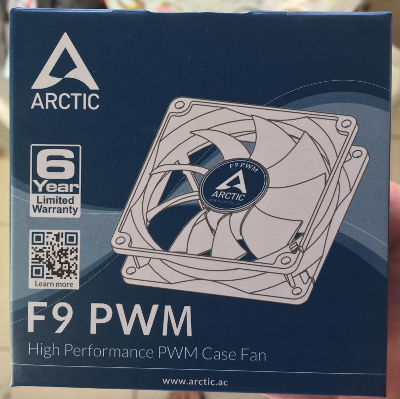 ARCTIC F9 PWM 9cm 4pin 550-1800 RPM  computer case cooling fan quiet cpu power cooler cooling Chassis fan Arctic  Case Fan 4pin pwm cooler fan 80mm 8cm fan case fan for power supply for computer case computer fan cooler foxconn 8025pwm