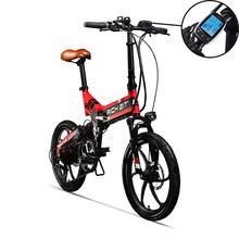 RichBit New ebike 48V 8Ah Hidden Battery Folding Electric Bike 7 Speed European quick delivery Electric Bicycle Mtb bicicleta