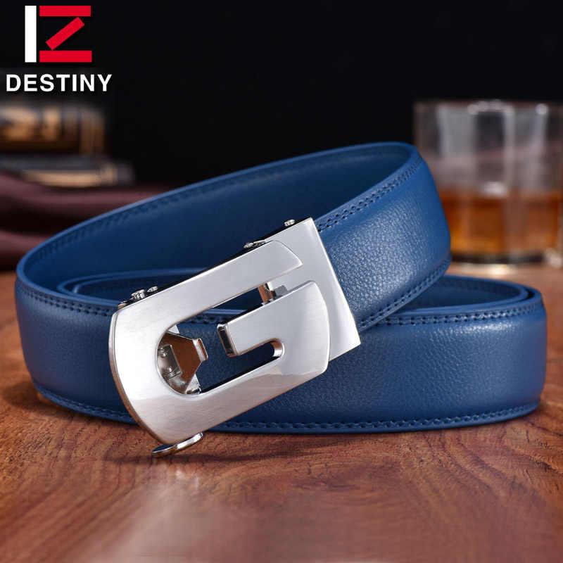 Przeznaczenie pasy Designer mężczyźni wysokiej jakości srebrne złoto G pas prawdziwa skóra dla mężczyzn pasek luksusowe znane marki ślubne dżinsy niebieska krowa