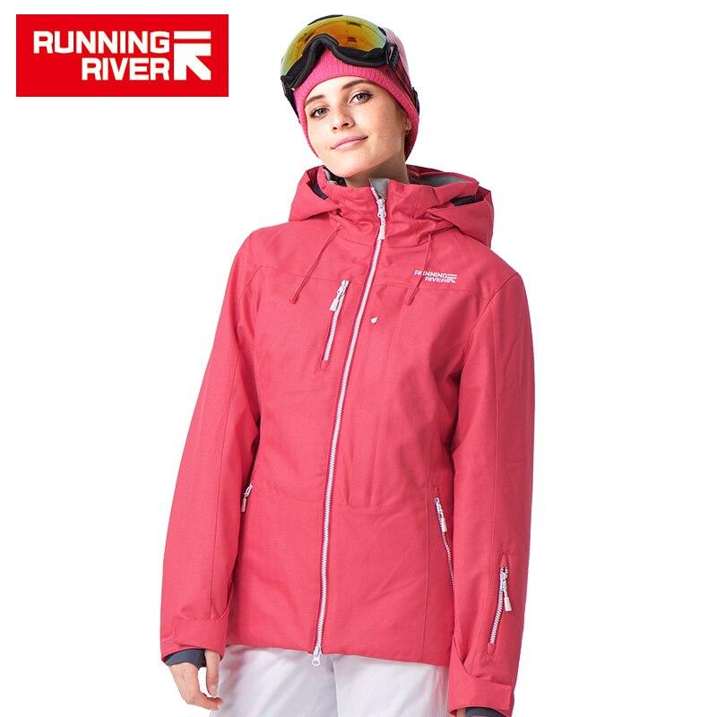 RUNNING RIVER femmes neige hiver Ski veste imperméable coupe-vent chaud Ski vestes neige hiver plein air Sport manteau # A4053