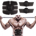Здоровый волшебный тренировочный тренажер для брюшных мышц Abs для домашних тренировок шейпер Электрические наклейки для потери веса пояс д...