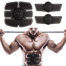0337360be15b0 Unisex Muscle Stimulator Wireless Trainer Smart Fitness Abdominal Training  Electric Weight Loss Stickers Body Slimming Belt