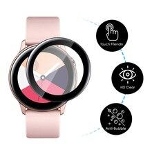 Полимерная пленка для samsung Galaxy Watch Active 2 40 мм 44 мм gear S3 frontier S2 42 мм 46 мм защитная пленка HD с защитой от пузырей
