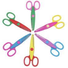 6PCS DIY Laciness Zig Zag scissor album school pinking shear creative Scrapbook photo craft cut handicraft paper diary handmade