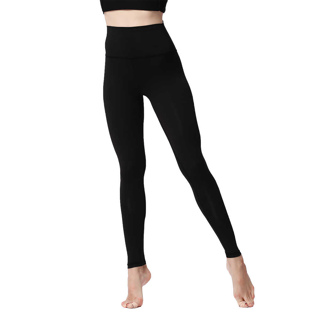 38f35f016606a ... Yoga Pants Leggings for Fitness Push Up High Waist Tights Solid Polyester  Running Gym Training Workout