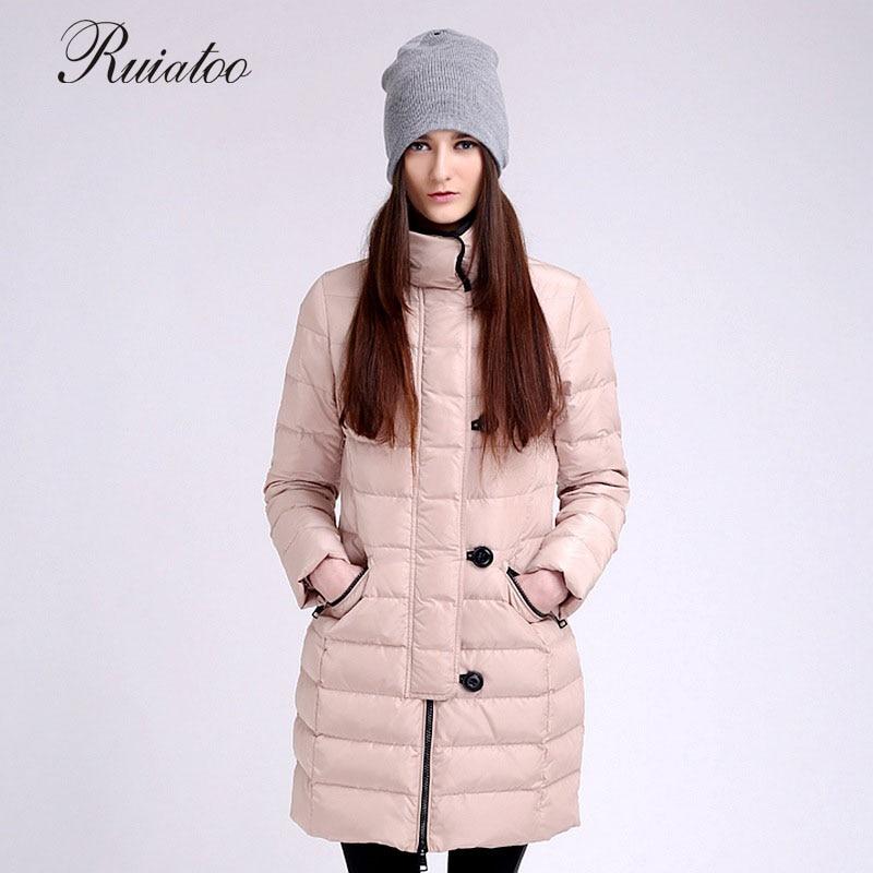 Daunenjacke qualität gute winter jacke weibliche mode damen