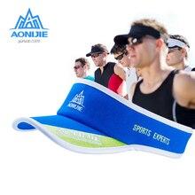 Visor-Cap AONIJIE Quick-Dry Running-Hat Marathon Sport Summer Outdoor Ultralight Golf-Tennis