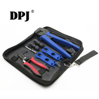 A2546B Kits MC4 Crimping tool for MC4 connector 2.5 4 6.0mm2 solar cable PV line Crimp tools DIY solar power system connect